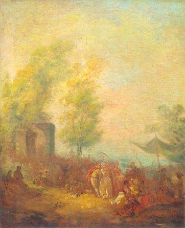 Fête Galante, Jean-Pierre Norblin, 1785